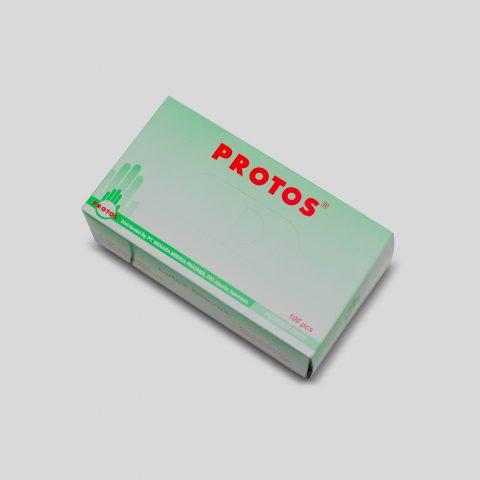 Protos - Examination Gloves Powder Free (green) 3
